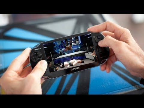 WWE '13 on the PS Vita