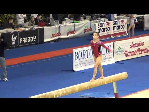 Katelyn Oashi (USA) Jesolo 2012 - BB - 15.10, 1st place