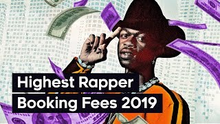 Top 20 Rappers With the Most Expensive Booking Fees (2019)