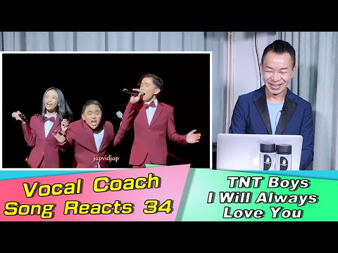 Vocal Coach Reacts TNTBoys I Will Always Love You