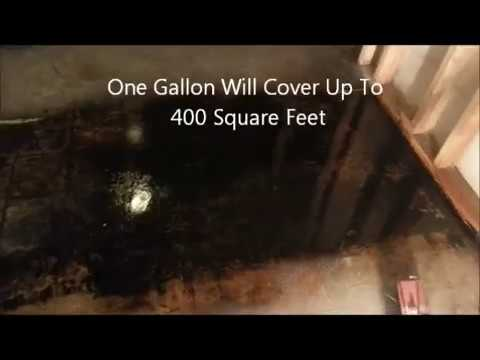 Remove mastic asphalt flooring adhesive from concrete for Remove oil from concrete floor