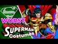 The WORST Superman Costumes!