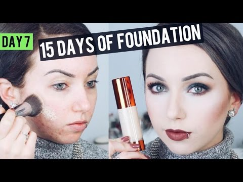 EX1 Invisiwear Liquid Foundation 1.0 {Review & Demo} 15 DAYS OF FOUNDATION