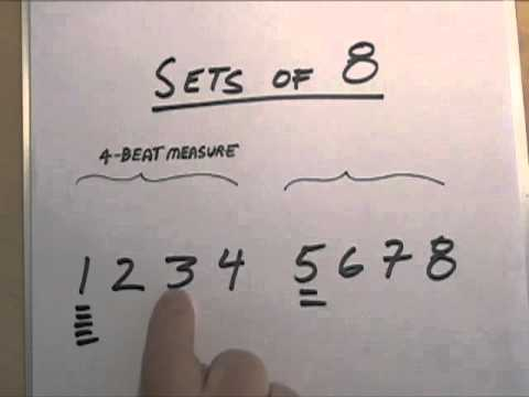 Count Music -- Hear the Beat by Counting Sets of 8