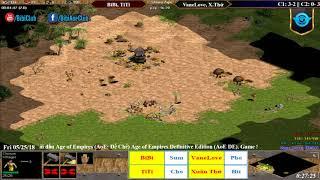 C4T3 AoE 22 Random BiBi, TiTi vs VaneLove, Xuân Thứ Ngày 24-05-218