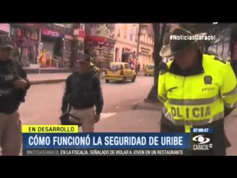 Escolta y Seguridad de Alvaro Uribe