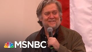 Steve Bannon Loses Two More Jobs In One Day | All In | MSNBC