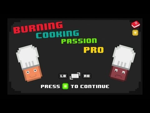 A Quick Look At Cooking Burning Passion Pro On The Ouya video