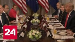 """Трамп хочет, чтобы Европа """"набивала сундуки"""" НАТО, а не России - Россия 24"""