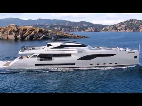 WIDER 125 - Diesel-Electric Motor Yacht Concept