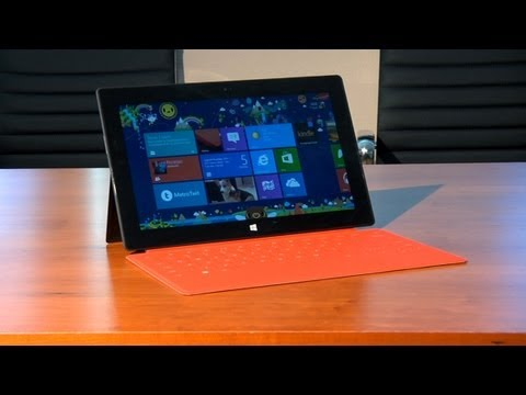 Quick Look at the Microsoft Surface with Windows RT