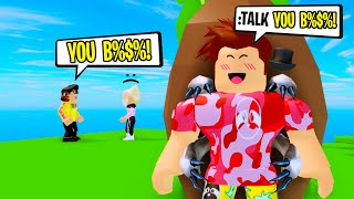 I Used TALKING Commands To Troll My Roblox Friend!
