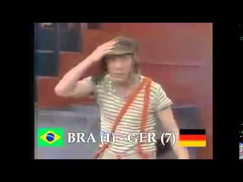 Alemania vs Brasil...version el chavo