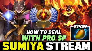 SUMIYA Teach Us How to deal with Pro SF | Sumiya Invoker Stream Moment # 1310