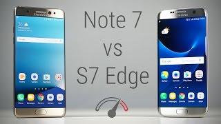 Galaxy Note 7 vs Galaxy S7 Edge Speedtest (Exynos 8890 vs Snapdragon 820)