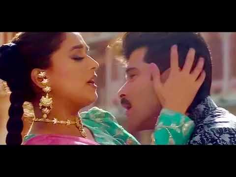 Анил и Мадхури с песней Koyal Si Teri Boli из ф-ма Сын / Beta (1992)