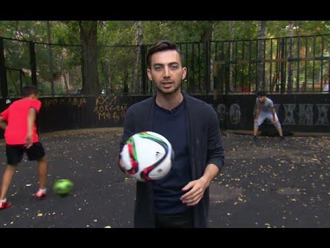 Уличный футбол в России