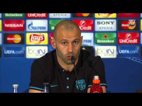 """Javier Mascherano: """"Que nadie piense que tenemos dudas"""""""