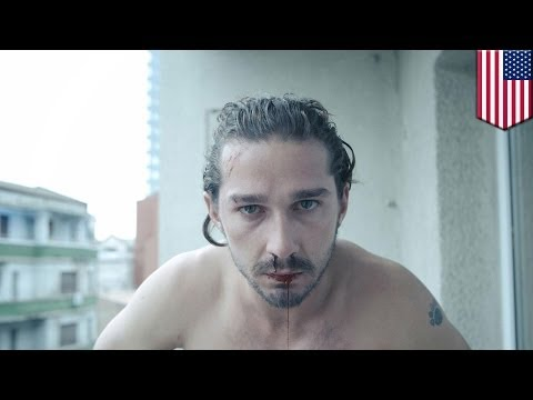 Shia LaBeouf crying: former Transformers actor kicked out of broadway show
