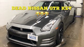 DIY   How to change Nissan GTR Key Fob Battery #nissangtr