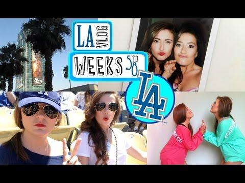 LA WEEK 5-8 ❤ Breaking Up #TeamCarah (JK We Moved Home)