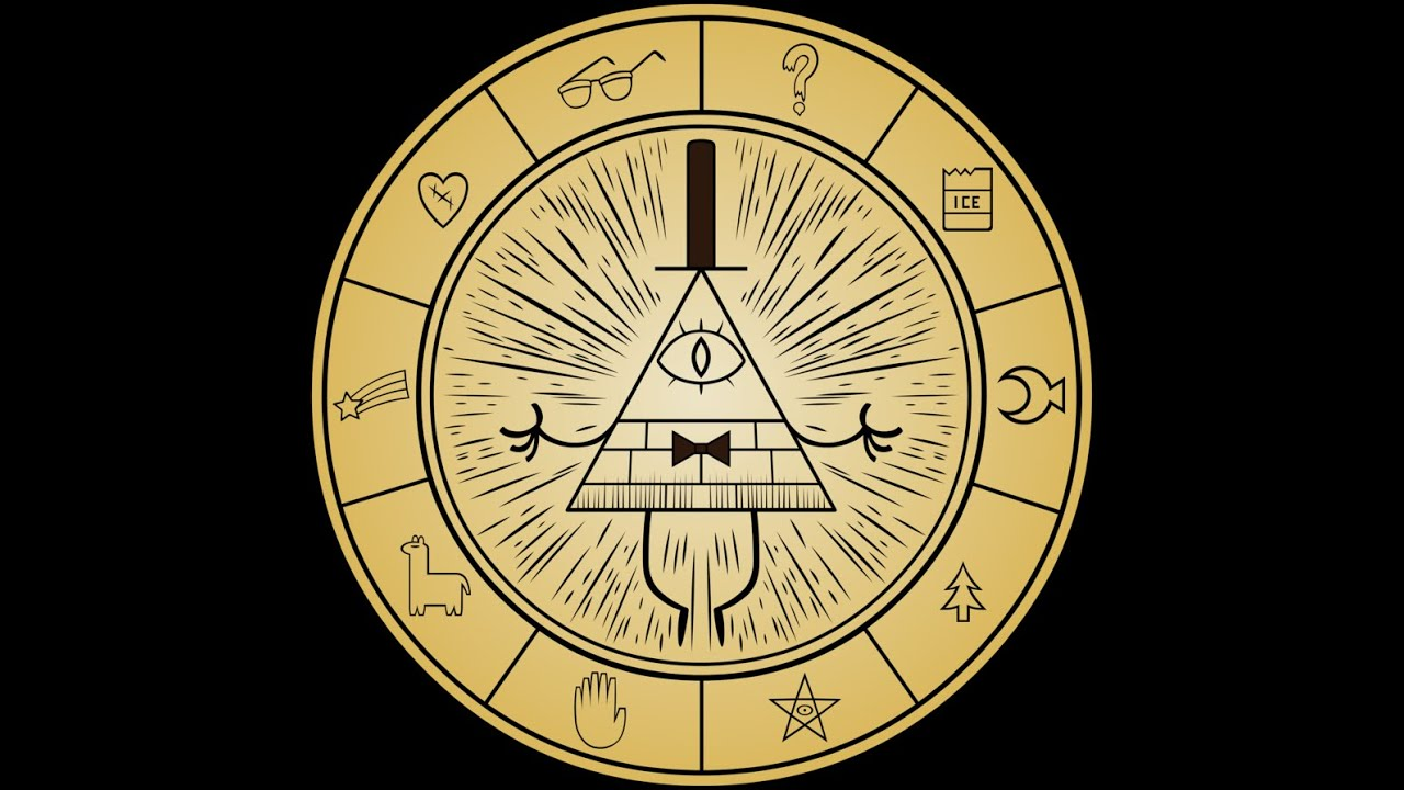 Gravity Falls Theory 1: Decoding the Bill Cipher Wheel ...