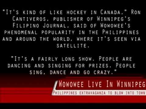 Wowowee In Sun Winnipeg Newspaper