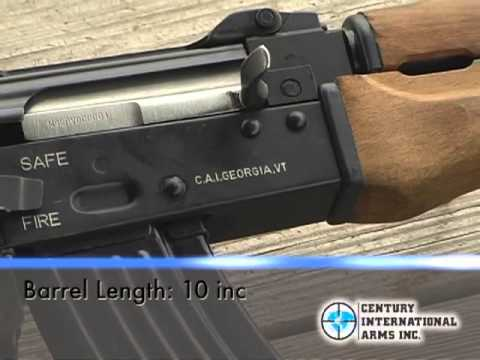 Century Arms - Zastava PAP M92 PV Semi-Auto Pistol. Cal. 7.62x39mm