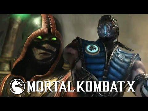 Mortal Kombat X - Ermac vs Sub-Zero Gameplay MK10
