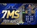 TOTY DANI ALVES THE BEST RW ON THE GAME??? INSANE DISCARD PUNISHMENT!!!
