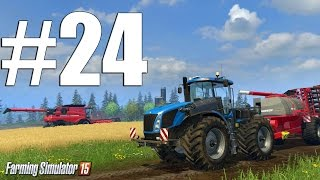 Farming Simulator 15 ч24 - И снова тюки