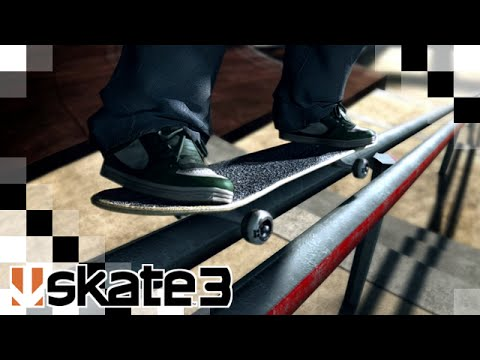 Skate 3 - Os 30 minutos iniciais do game