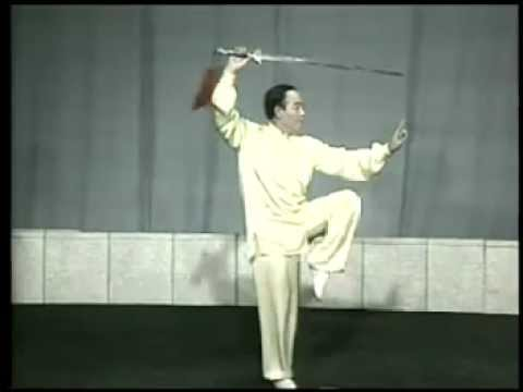 32式太極劍(全套演練 - 李德印)Taiji sword - 32 forms (full demonstration - Li Deyin) Music Videos