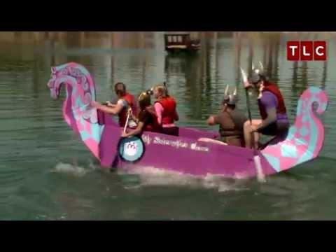 Cardboard Boat Racing   Sister Wives