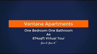 Ventana Apartments A4 874sqft Virtual Tour