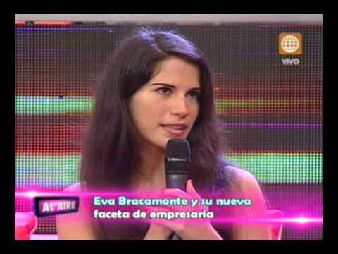 AL AIRE - EVA BRACAMONTE REALIZARÁ VENTA DE ARTICULOS