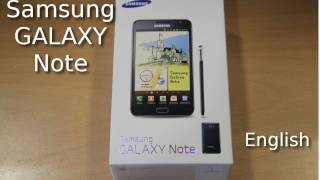 Samsung Galaxy Note Review in HD (English)