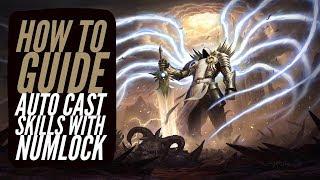 Diablo 3 - How To AUTOCAST/OP NUM LOCK TRICK | PATCH 2.6.1