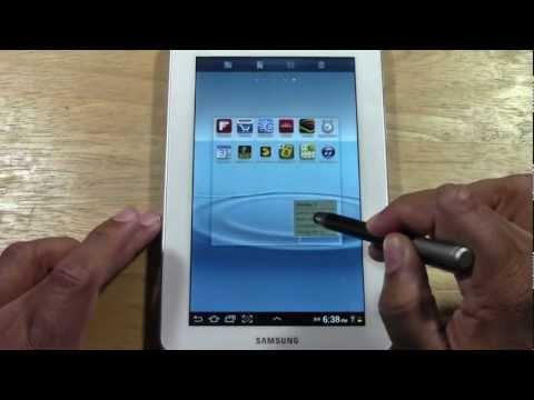 Galaxy Tab 2 7.0 for Beginners   H2TechVideos