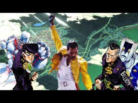 Morioh-Cho Will Rock You (JJBA vs Queen)