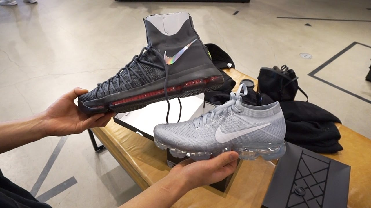 The Sole Brothers VLOG #44 VAPORMAX & KD 9 ELITE!