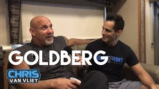 Goldberg wants Roman Reigns if he returns, talks Brock Lesnar match, Ryback, concussions