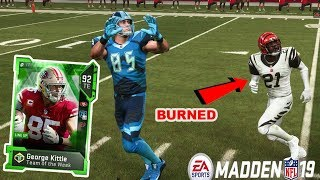 200 YARDS RECEIVING! GEORGE KITTLE IS A BEAST! | MADDEN 19 ULTIMATE TEAM GAMEPLAY