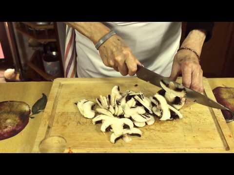 Truchas con champiñones | Las Recetas de Pepa