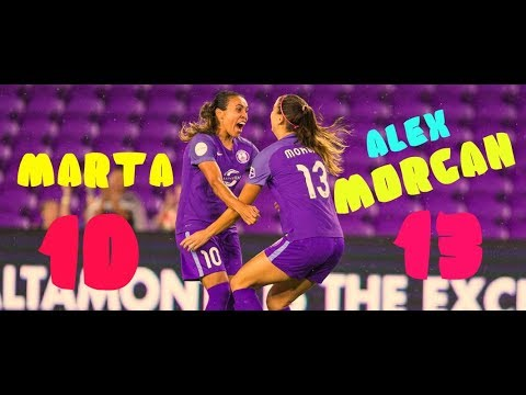 Marta & Alex Morgan/Orlando Pride/Two Geniuses/2017