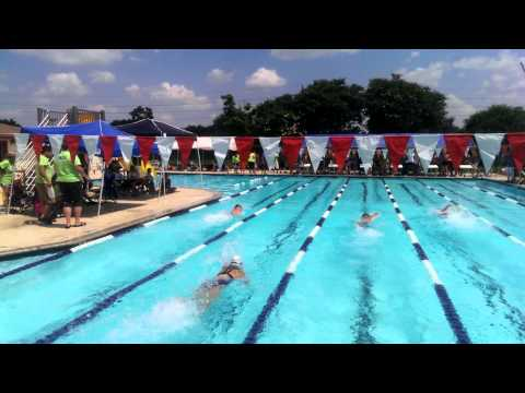 Freestyle Relay - Wavebreakers vs Tiger Sharks