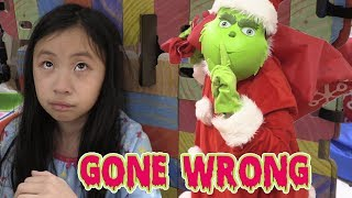 Pretend Play Police LOCKED UP THE GRINCH in Jail Playhouse GONE WRONG