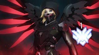 """Overwatch: World #1 Rank NEW MERCY Player """"Hoshizora"""""""