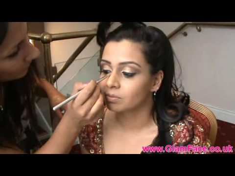 Real Bride, Asian Bridal Makeup- Registry & Wedding