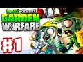 Plants vs. Zombies: Garden Warfare - Gameplay Walkthrough Part 1 - Garden Ops Multiplayer (Xbox One)